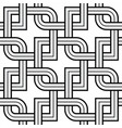 viking seamless pattern - chained squares rounded vector image vector image