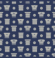 greek and roman ancient columns seamless pattern vector image