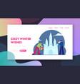 artists making ice castle sculpture website vector image vector image