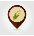 Corn mapping pin icon Harvest Thanksgiving vector image vector image