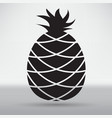 pineapple icon vector image vector image