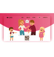 quarrel web-page people man woman in family vector image vector image