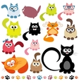 Set of cats vector | Price: 3 Credits (USD $3)
