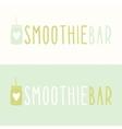 Smoothie bar logotypes