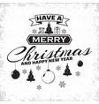 Vintage christmas lettering