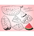 Watermelon 05 A vector image