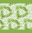 greenery taraxacum seamless pattern background vector image