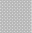 Abstract monochrome square pattern vector image vector image