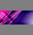dynamic lines on fluid color gradient trendy vector image vector image