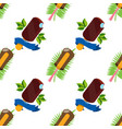 ice cream lolly seamless pattern for design vector image vector image