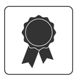 Award medal icon gray 1 vector image