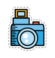 cartoon photo camera picture image vector image
