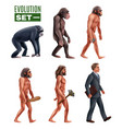 human development stages characters set vector image vector image