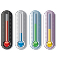 thermometers vector image vector image