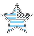 united states star vector image