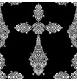 Vintage religious crosses in black and white