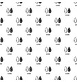 almond pattern seamless vector image vector image