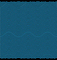 blue and black seamless wave pattern linear desig vector image