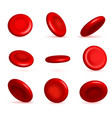 creative of red blood cells vector image vector image
