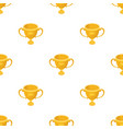 gold cup of the winnerfans single icon in cartoon vector image vector image