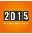 Happy new year 2015 vector image vector image