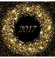 splash gold glittering spangled banner new vector image vector image