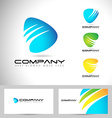 Abstract Logo Design vector image vector image