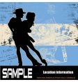 argentine tango vector image