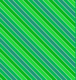 Green seamless diagonal stripe pattern background vector image vector image