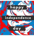 Happy USA Independence day card vector image vector image