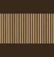 wooden planks on dark background vertical vector image vector image