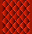 red padded upholstery seamless pattern texture vector image