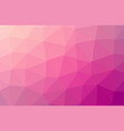 abstract purple pink polygon geometric background vector image vector image