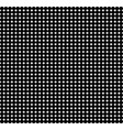 black and white texture of small circles vector image