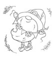 saint patrick s day holiday set cute cartoon vector image vector image
