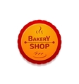 Bakery shop label vector image vector image