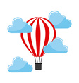 balloon air hot vector image