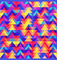 grunge triangle pattern vector image