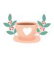 international day coffee delicious beverage vector image vector image