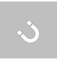 magnetism computer symbol vector image