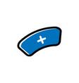 nurse cap icon design template isolated vector image