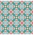 Pattern in Christmas style vector image vector image