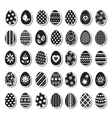 Set of easter eggs vector | Price: 1 Credit (USD $1)