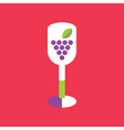 Wine Icon Wine vector image
