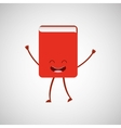 book character design vector image