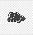 abstract icon of weather conditions in one picture vector image