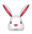 avatar of a cute rabbit vector image