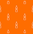 bottle of water pattern seamless vector image vector image