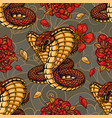 colorful vintage japanese seamless pattern vector image vector image