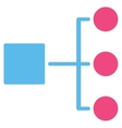 Diagram Icon from Commerce Set vector image